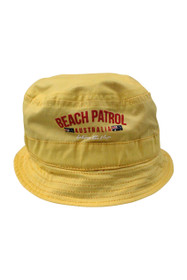 Kids Beach Patrol Bucket Hat (Red/Yellow)