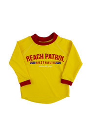 Kids BB Patrol Rashie (Yellow)