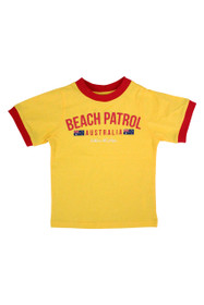 Kids Beach Patrol Tee (Yellow)