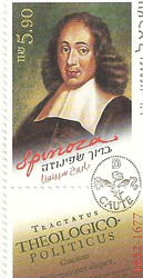 Stamp: Baruch Spinoza, Philosopher
