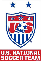 "US NATIONAL TEAM "" CREST""  Official Soccer Poster-#21"