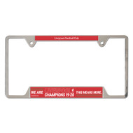 Liverpool FC Champions' License Plate Frame