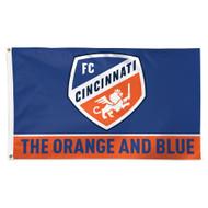 FC Cincinnati Flag Slogan