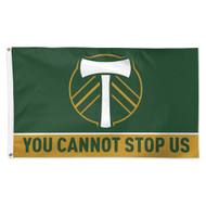 Timbers Flag Slogan