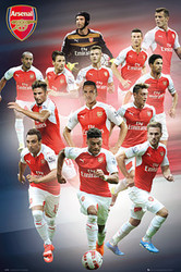 ARSENAL PLAYERS  Official Soccer Player Poster 2015/16, #279