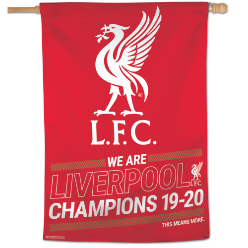 Liverpool FC Champions' Banner