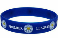 Wristbands Silcone - EPL - Leicester City FC