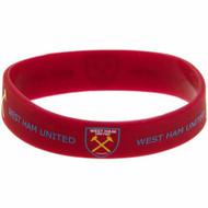 Wristbands Silcone - EPL - West Ham United FC