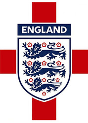 ENGLAND CREST Official Soccer  Poster-#008