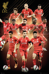 LIVERPOOL PLAYERS MONTAGE Official Soccer Poster 2015/16-#285