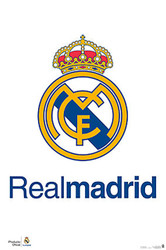 REAL MADRID TEAM CREST Official Soccer  Poster-#15
