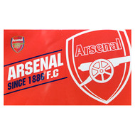 ARSENAL FC ESTABLISHED Style Licensed Flag 5' x 3'