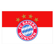 BAYERN MUNICH FC Style Licensed Flag 5' x 3'