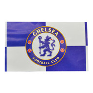 CHELSEA FC QUARTERS  Style Licensed Flag 5' x 3'