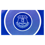 EVERTON FC BULLSEYE Style Licensed Flag 5' x 3'