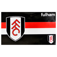 FULHAM FC HORIZON Style Licensed Flag 5' x 3'