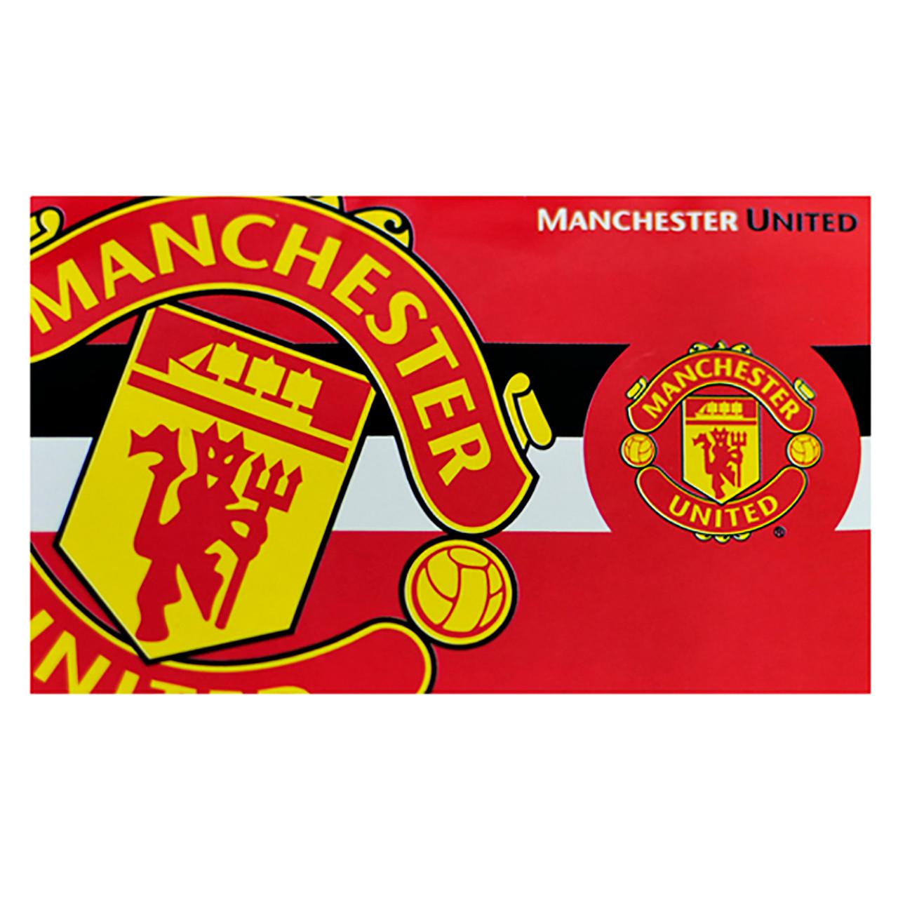Manchester United /& Union Jack Large Keyring /& Bag Tag Man U