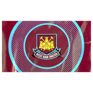 WEST HAM FC BULLSEYE  Style Licensed Flag 5' x 3'