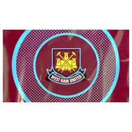 WEST HAM FC BULLSEYE  Style Licensed Flag 5' x 3'