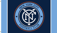 NEW YORK CITY FC Premium Fan Flag 5' x 3'
