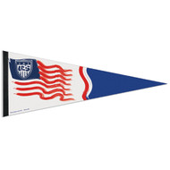 "RED,WHITE, BLUE TEAM USA Premium Style Fan Pennant 12""x 30"""