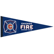 "CHICAGO FIRE FC Premium Style Fan Pennant 12""x 30"""