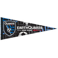 "SAN JOSE EARTHQUAKES 1974 FC Premium Style Fan Pennant 12""x 30"""