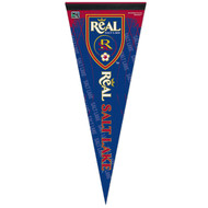 "REAL SALT LAKE FC Premium Style Fan Pennant 12""x 30"""