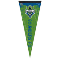 "SEATTLE SOUNDERS FC Premium Style Fan Pennant 12""x 30"""
