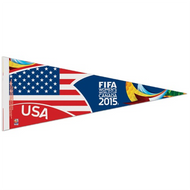 "FIFA WOMEN'S WORLD CUP 2015 Premium Style Fan Pennant 12""x 30"""