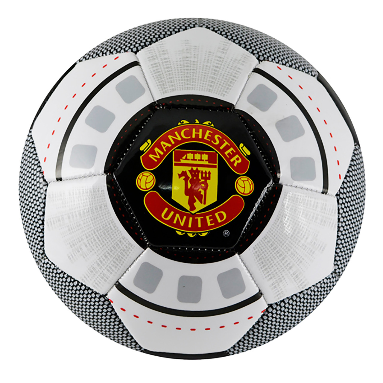 Manchester United Licensed Size 5 Red White