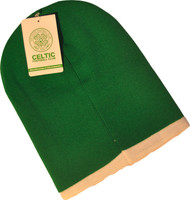 CELTIC FC  Official Long Green Beanie Hat