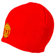 MANCHESTER UNITED FC Official Red Beanie Hat