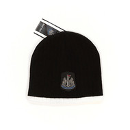 NEWCASTLE UNITED FC Official Black Beanie Hat
