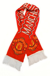MANCHESTER UNITED FC Authentic Fan Scarf