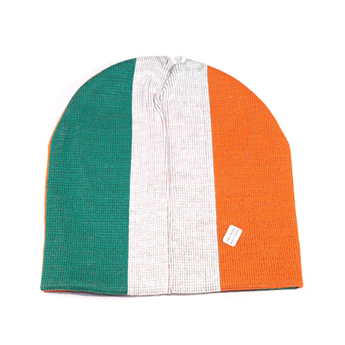 TRI COLOUR IRISH Beanie Hat.  22.95. Image 1 55ad3800d07