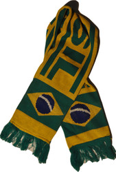 BRAZIL FLAG Authentic Fan Scarf