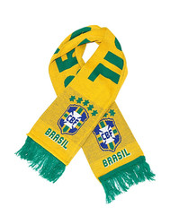 BRAZIL CREST Authentic Fan Scarf