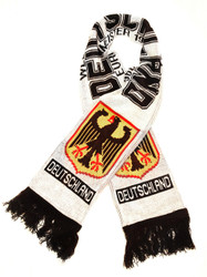 GERMANY WHITE  Authentic Fan Scarf