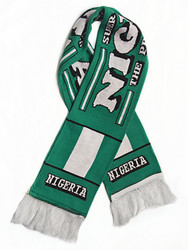 NIGERIA  Authentic Fan Scarf