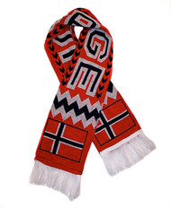 NORWAY  Authentic Fan Scarf