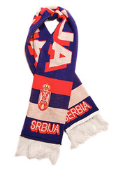 SERBIA  Authentic Fan Scarf