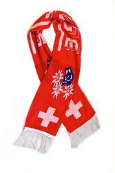 SWITZERLAND Authentic Fan Scarf