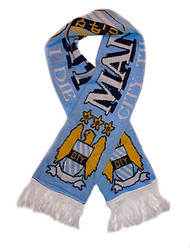 MANCHESTER CITY FC Authentic Fan Scarf