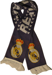 REAL MADRID FC PURPLE Authentic Fan Scarf