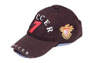 ROBIN RUTH SOCCER-Polo Cap #7 in Black