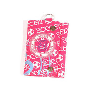 ROBIN RUTH SOCCER-Stamp Fushia  Wallet