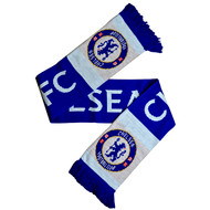 CHELSEA FC Licensed Tipped Wordmark Scarf