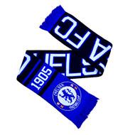 CHELSEA FC Licensed Nero Scarf