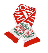 LIVERPOOL FC Licensed Offside/  You'll Never Walk Alone Scarf